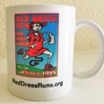 Hash Boy Red Dress Run Hash Mug