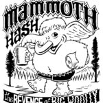Hash Boy OCHHH Mammoth Hash Revenge of Big Woolly (2019) Tee Back by Nut N Honey