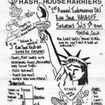 OCHHH July 4 1986 Independence Day Hash flyer (1986)