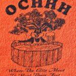OCHHH The Small Head Run (1999) Tee Front Lapel OCHHH Logo by Nut N Honey