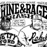 OCHHH Betty Ford Rehab Hash XXVIII BFR Rego Flyer (2014) Barry Bonds & Mark McGwire by Nut N Honey