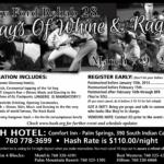 OCHHH Betty Ford Rehab Hash XXVIII BFR Rego Flyer (2014) Barry Bonds & Mark McGwire